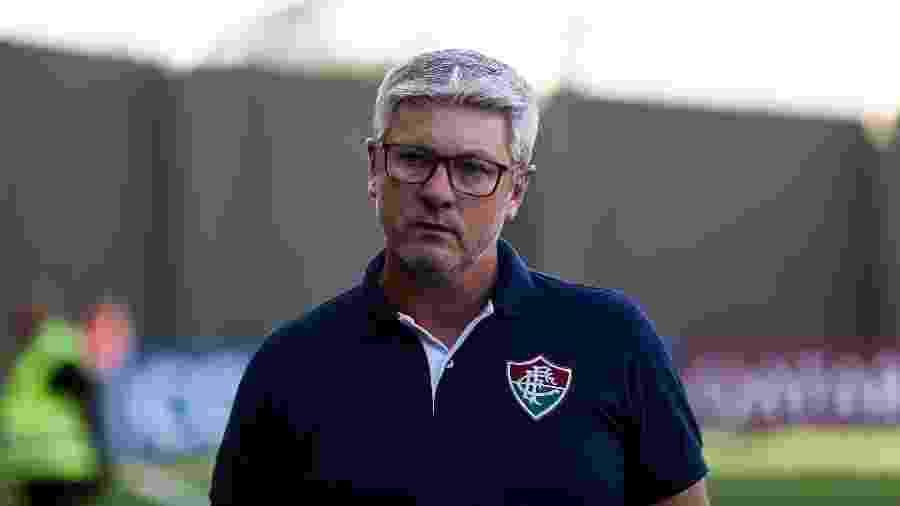 Odair Hellmann sofre pressão externa no Fluminense - Lucas Merçon/Fluminense FC