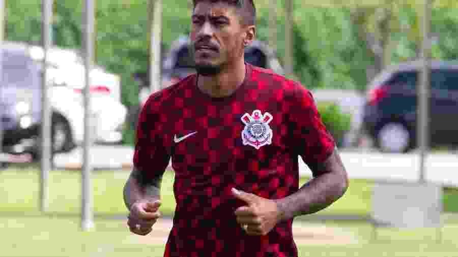 Volante Paulinho tem contrato com clube chinês até o fim de 2023 - Daniel Augusto/ Agência Corinthians