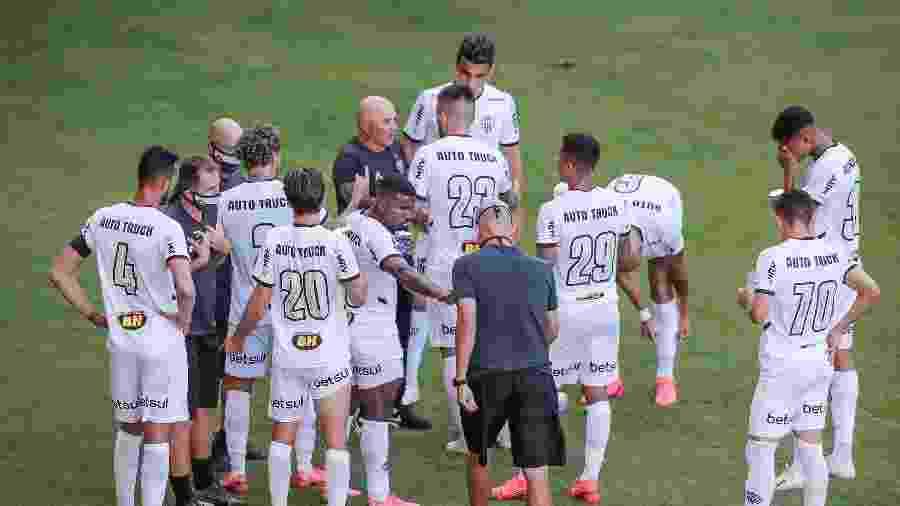 Elenco do Atlético-MG tem encontrado facilidade para se adaptar às exigências de Sampaoli, de acordo com Allan - Bruno Cantini/Atlético-MG