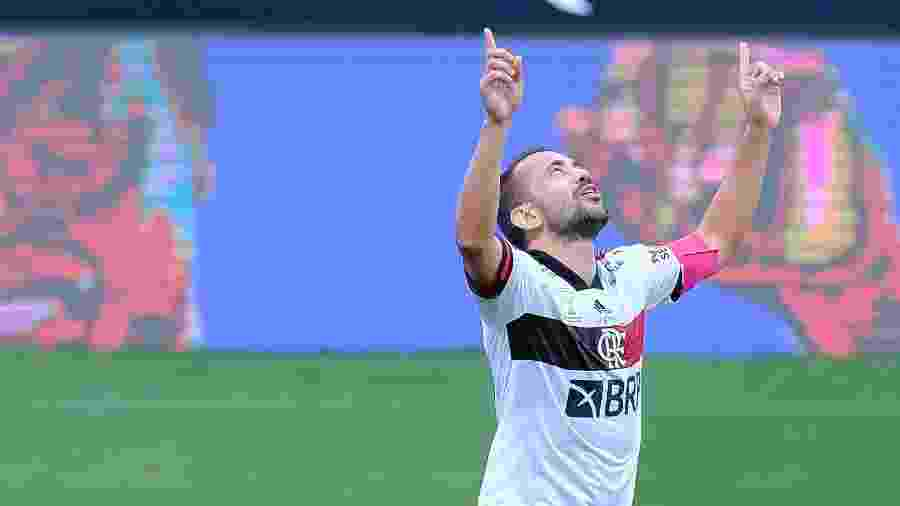 Everton Ribeiro, do Flamengo - Daniel Vorley / AGIF