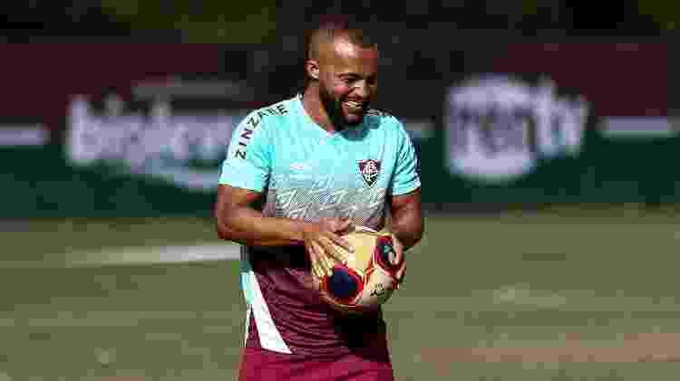 Samuel Xavier, lateral-direito do Fluminense - Lucas Merçon / Fluminense F.C - Lucas Merçon / Fluminense F.C