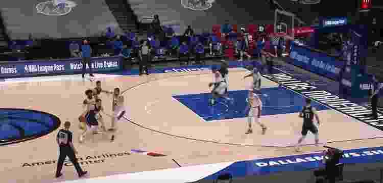 Dobra em Luka Doncic - Reprodução/NBA - Reprodução/NBA
