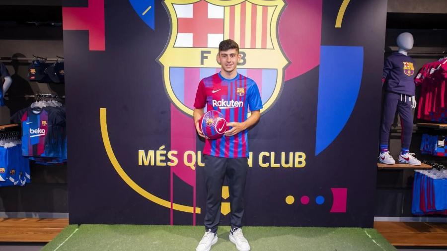 Yusuf Demir foi contratado por empréstimo para o Barça B, mas já ganhou espaço no time principal - Divulgação/FC Barcelona