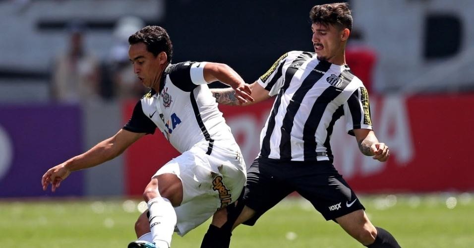 Jadson e Zeca participaram de duelo equilibrado na Arena Corinthians