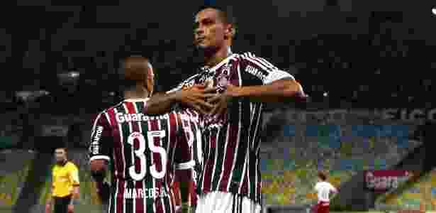 Cícero no Fluminense - Nelson Perez/Fluminense FC - Nelson Perez/Fluminense FC
