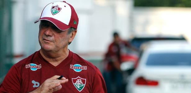 Levir Culpi mandará a campo um time com várias mudanças em relação ao jogo contra Botafogo - NELSON PEREZ/FLUMINENSE F.C.