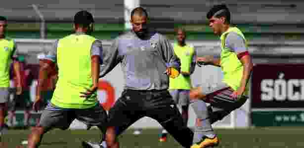 Cavalieri quer retomada do Fluminense contra o São Paulo - NELSON PEREZ/FLUMINENSE F.C