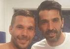 """Podolski exalta Buffon na web: """"Você é uma lenda"""" - Reprodução / Instagram"""