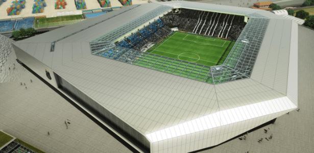 Nova arena do Santos pode ter capacidade até para 30 mil torcedores