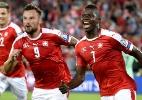 Sem C. Ronaldo, Portugal perde para a Suíça em 1º jogo oficial após a Euro - AFP PHOTO / FABRICE COFFRINI