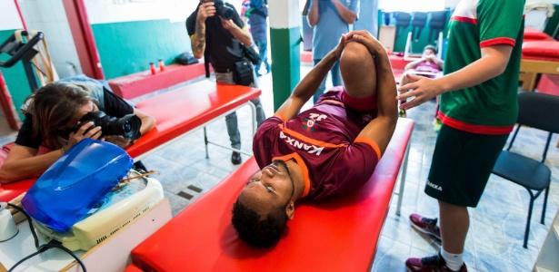 Goleiro Bruno nos primeiros dias no Boa Esporte; ex-flamenguista deve estrear
