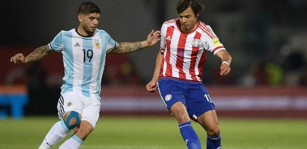 Romero foi eleito melhor em campo em vitória paraguaia sobre a Argentina