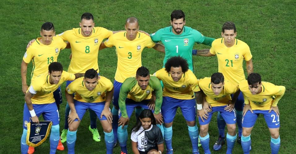 Brasil se prepara para o duelo contra o Paraguai