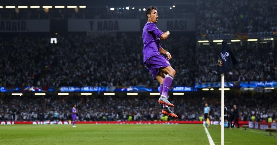 Cristiano Ronaldo na final da Liga dos Campeões 2016/2017