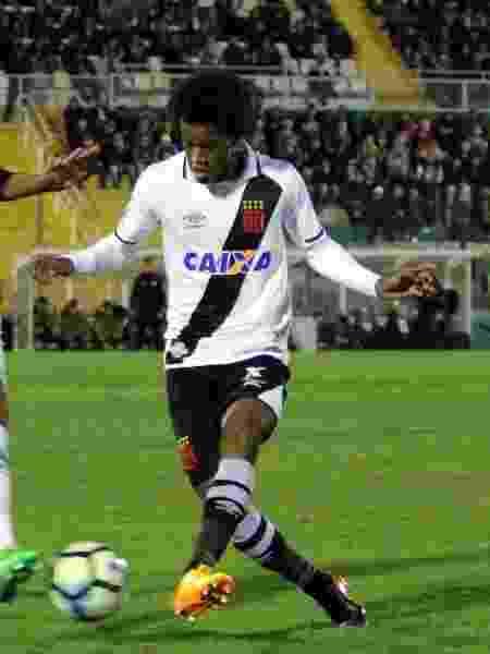 Jovem Alan foi substituído aos 25 minutos do primeiro tempo no Vasco - Carlos Gregório Júnior / Flickr do Vasco