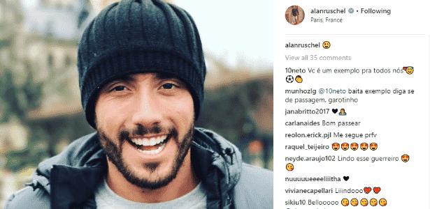 Alan Ruschel - reprodução/Instagram - reprodução/Instagram