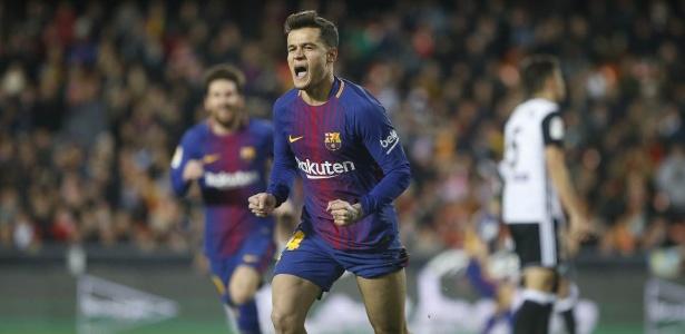 Coutinho completou o primeiro mês como jogador do Barcelona
