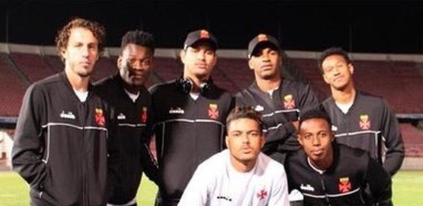 Jogadores do Vasco causaram polêmica com postagens nas redes sociais