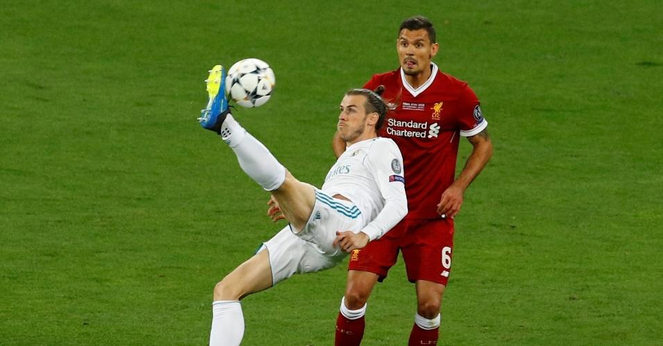 Gareth Bale acerta bicicleta para marcar na final da Liga dos Campeões