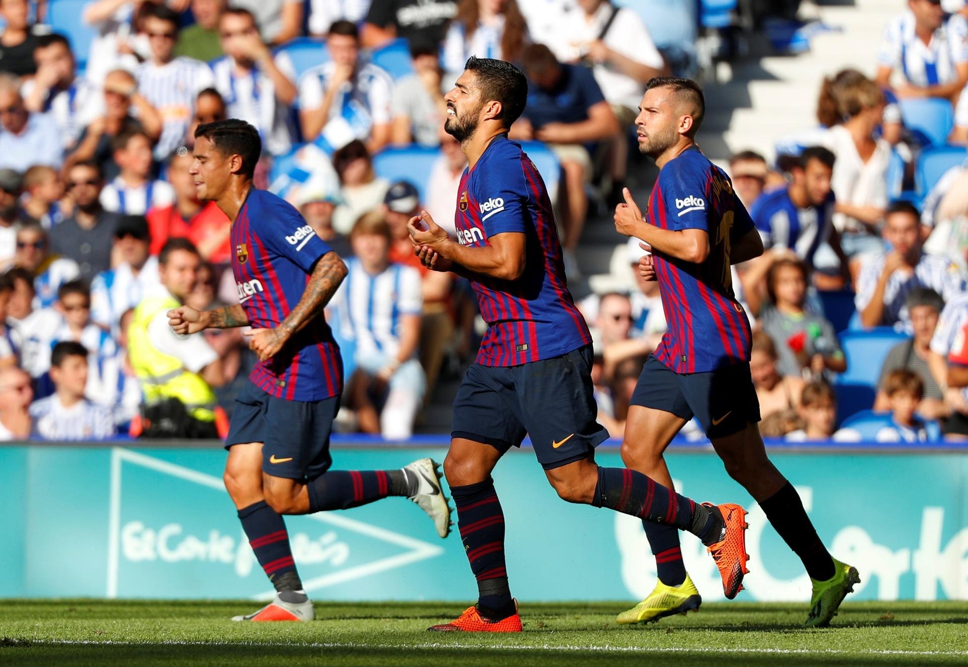 Barcelona sofre contra Real Sociedad 3df0607c63404