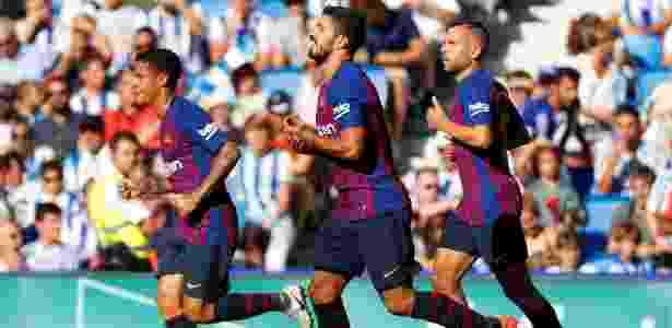 Barcelona sofreu para vencer Real Sociedad fora de casa - PAUL HANNA/REUTERS