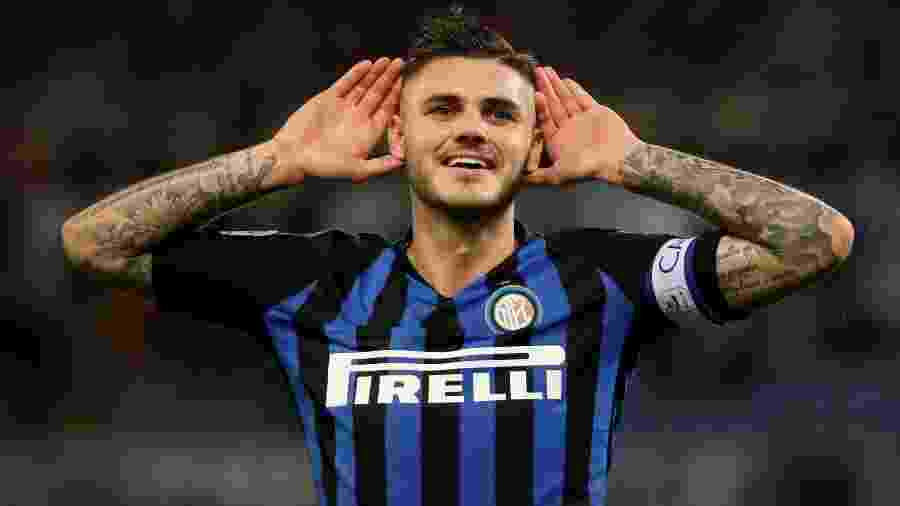Atacante Mauro Icardi está na mira da Juventus para a próxima temporada - REUTERS/Tony Gentile