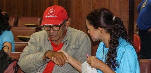 Adalberto Gomes, torcedor do Paysandu, participa de iniciativa para torcedores pobres - Jorge Luiz/Paysandu