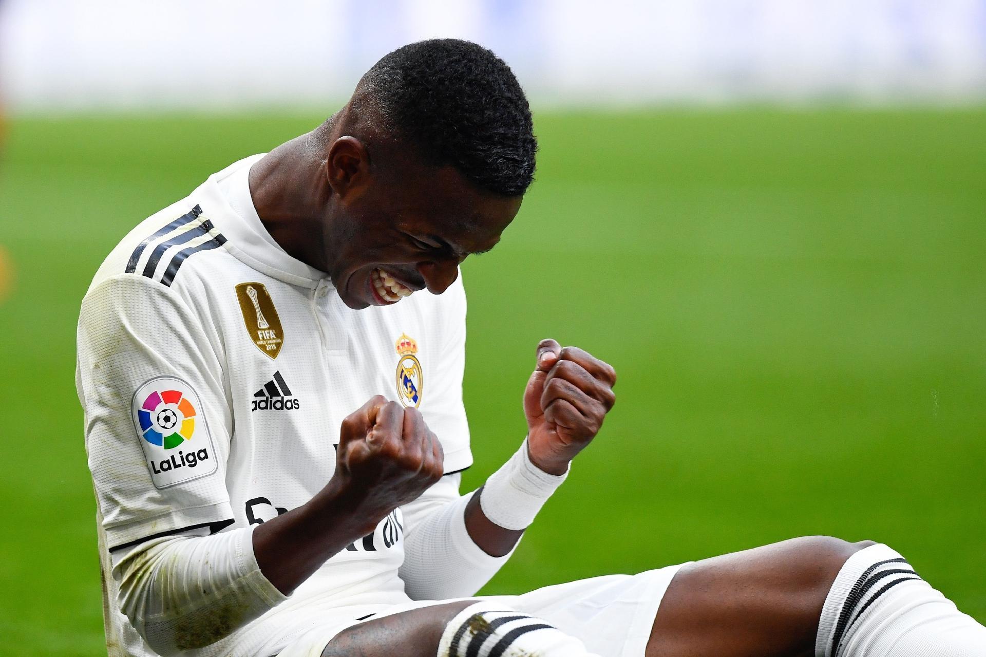 4ce53d926a39a8 Real Madrid: Vinicius Jr. se destaca, Casemiro marca e Real vence 5ª  seguida no Espanhol