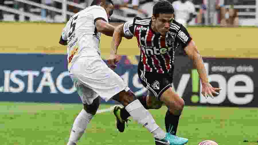 Hernanes até apareceu bastante contra o Bragantino, mas teve pouca participação em lances perigosos - Fábio Moraes/Futura Press/Estadão Conteúdo