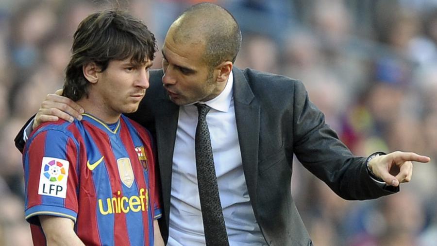Guardiola foi treinador da equipe principal do Barcelona entre 2008 a 2012 - Lluis Gene/AFP