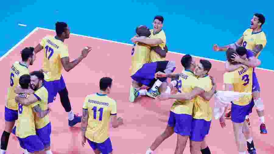 Seleção brasileira de vôlei no Pan de Lima - Vidal Tarqui/Lima-2019