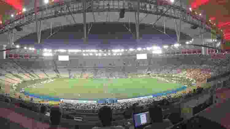 Maracanã vazio em Fluminense x Vasco - Caio Blois/UOL - Caio Blois/UOL
