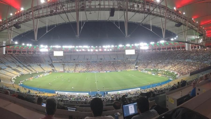 Maracanã vazio em Fluminense x Vasco - Caio Blois/UOL