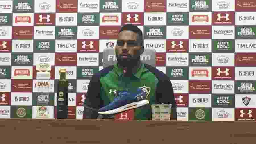 Luccas Claro pregou foco no Fluminense pela vaga na Copa Sul-Americana - Caio Blois/UOL Esporte