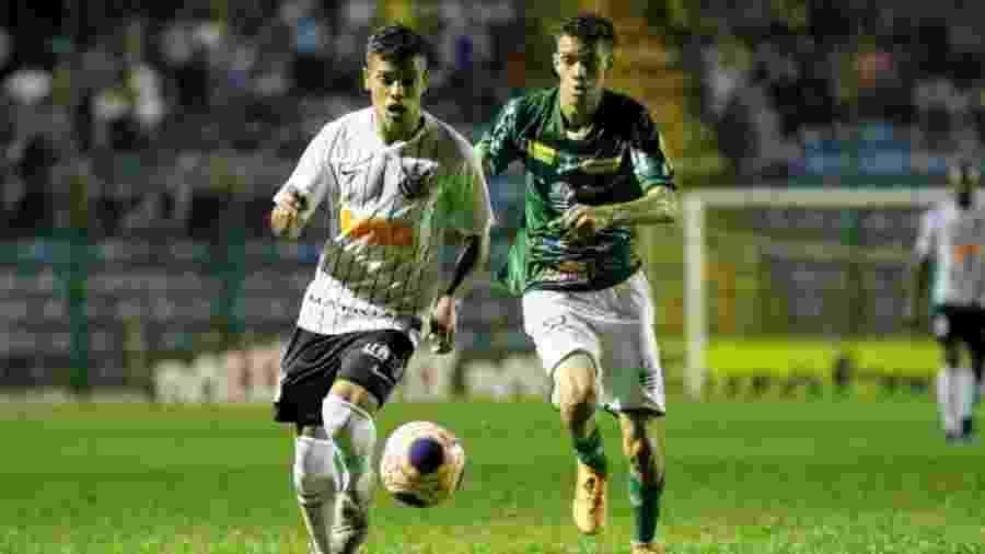 Corinthians saiu na frente da Francana, mas sofreu o empate nos minutos finais da partida - Divulgação/Corinthians