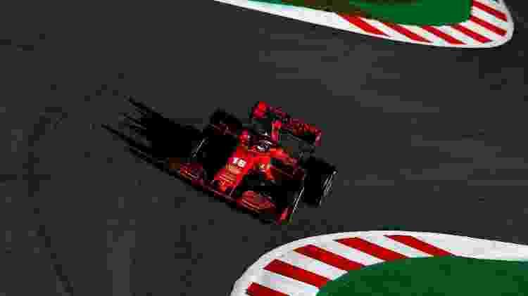 Charles Leclerc, da Ferrari, durante os testes da pré-temporada da F-1 - Ferrari - Ferrari