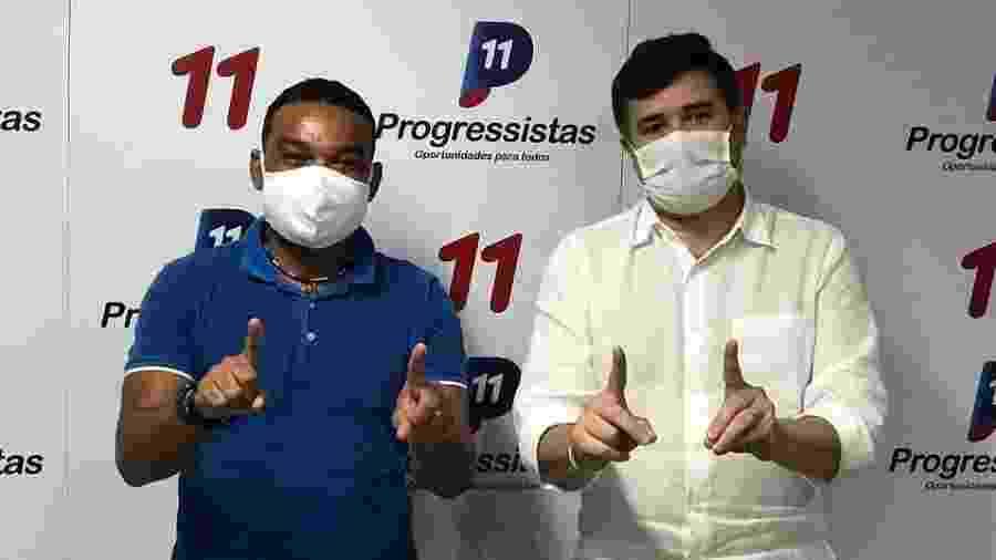 Carlinhos Bala e Eduardo da Fonte, líder do Progressistas em Pernambuco - Instagram/Reprodução