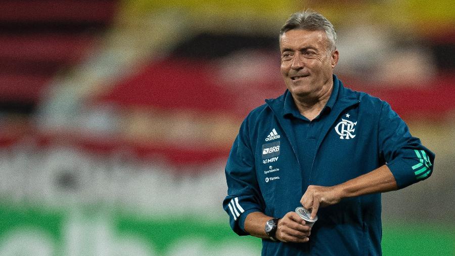 Domenec Torrent só ficou três vezes no comando do Flamengo - Jorge Rodrigues/AGIF