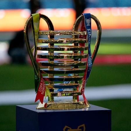 Taça da Copa do Nordeste disputada por Ceará e Bahia neste ano - Divulgação CBF
