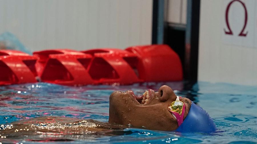 Gabriel Araújo, nadador das Paralimpíadas de Tóquio - NurPhoto/NurPhoto via Getty Images