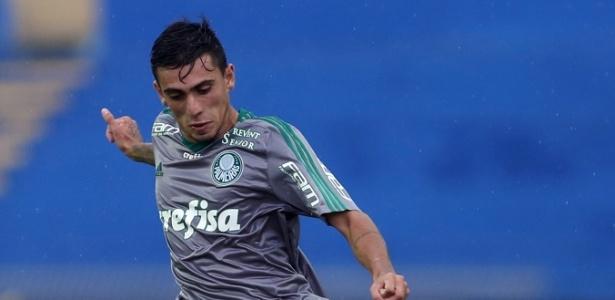 Atacante Kaue (foto) marcou o gol do Palmeiras na etapa normal. América venceu nos pênaltis por 5 a 4