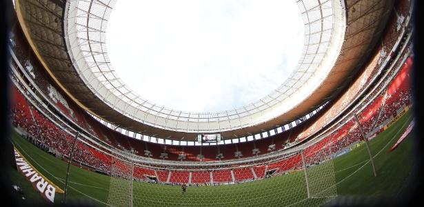 O Mané Garrincha será o palco de Flamengo x São Paulo pelo Campeonato Brasileiro