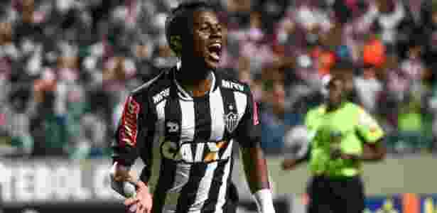 Meia equatoriano Cazares comemora gol do Atlético-MG - Bruno Cantini/Atlético-MG - Bruno Cantini/Atlético-MG