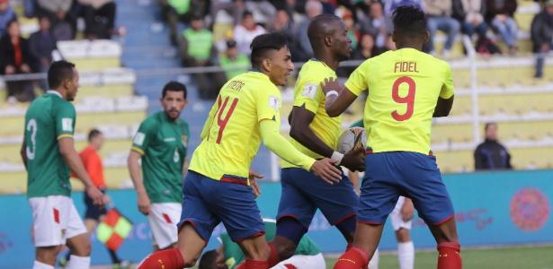Equatorianos conseguiram empate por 2 a 2 com os bolivianos