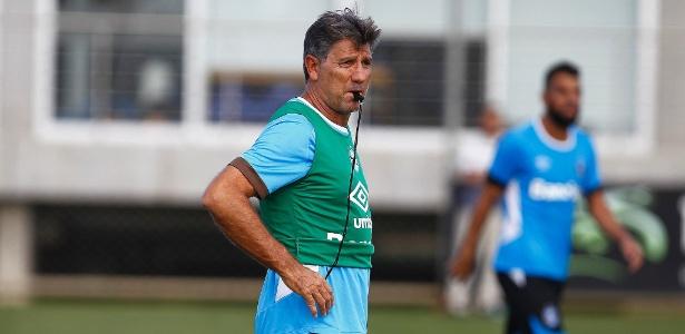 Renato Gaúcho faz de tudo para que o Grêmio conquiste a Copa do Brasil nesta quarta - Lucas Uebel/Grêmio