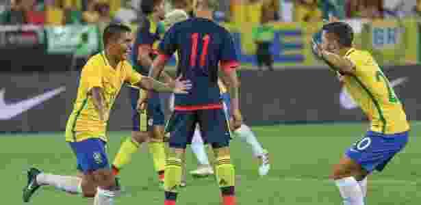 Contra a Colômbia, Dudu tinha sido o número 11. Agora será o 7 - Ricardo Stuckert/CBF