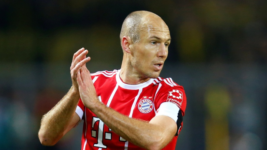 Robben bate recorde de brasileiro em vitória do Bayern - REUTERS/Ralph Orlowski