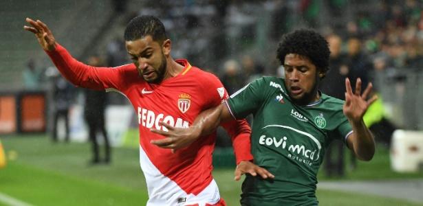 Lance da partida entre Saint-Etienne e Monaco, pelo Francês