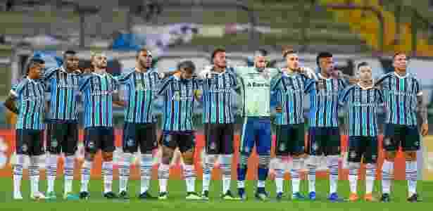 Grêmio só enfileiro três vitórias consecutivas uma vez: Flamengo (foto), Vitória e Corinthians - Lucas Uebel/Grêmio