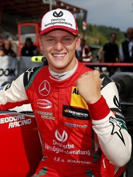 Mick Schumacher comemora vitória na Fórmula 3 Europeia - Divulgação/Prema Racing